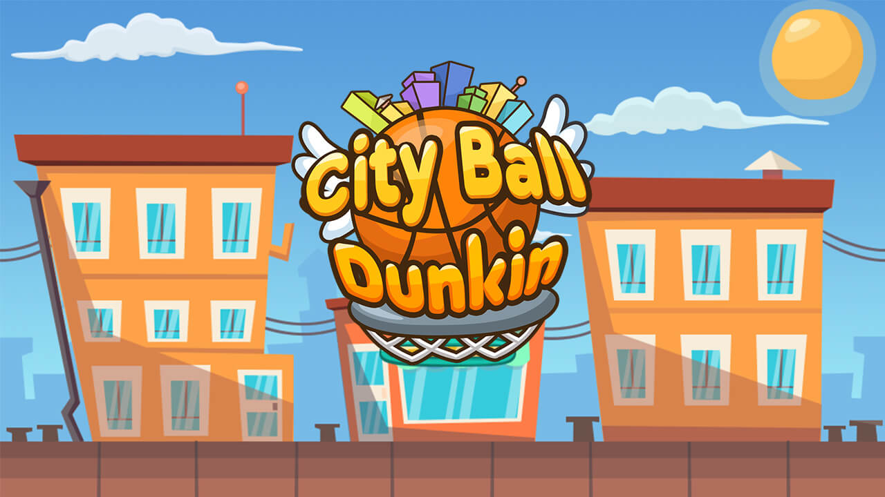 Hra - City Ball Dunkin