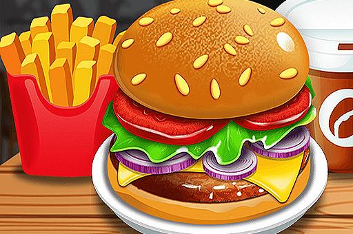 Hra - Burger Shop
