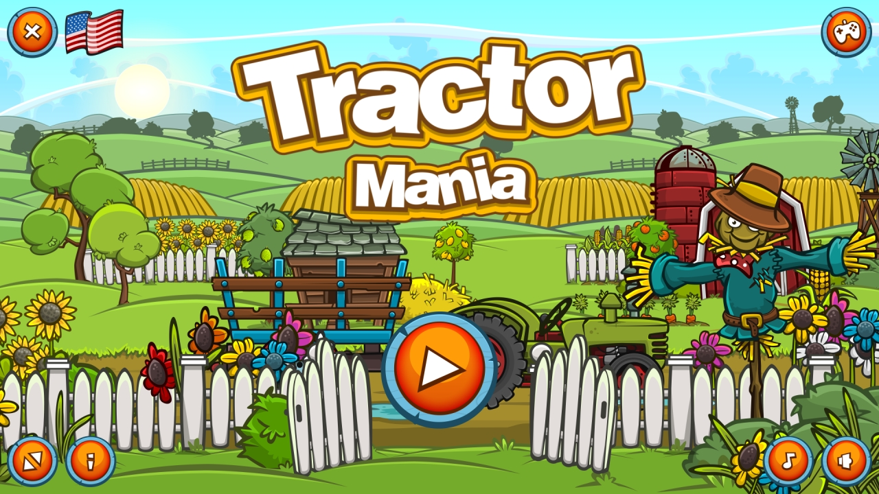 Hra - Tractor Mania