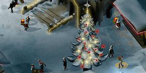 Hra - Vánoční náměstí