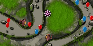 Hra - Bloons Tower Defense 4