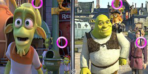 Hra - Shrek forever after similarities