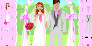 Hra - Barbie and Ken Wedding