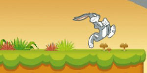 Hra - Bugs Bunnys Hopping Carrot Hunt