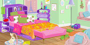 Hra - Zařizování ložnice