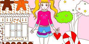 Hra - Vymaluj panenku