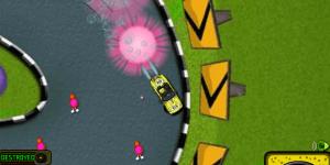 Hra - Spongebob Speed Car Racing