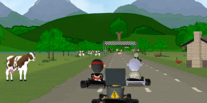 Hra - Karting Super Go