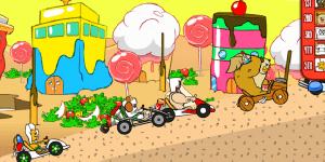 Hra - Mr Streoid Cart
