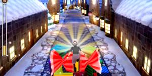 Hra - Angry Gran Run Christmas Village
