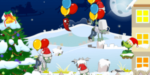 Hra - Plants Vs Zombies Christmas