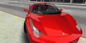 Hra - 3D Ferrari F458