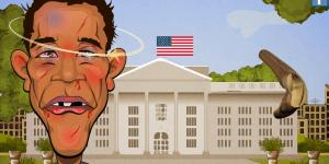 Hra - Slaphaton Obama vs Romney