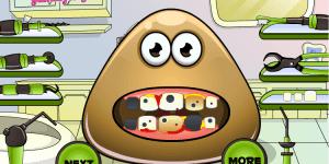 Hra - Pou Tooth Problems