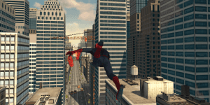 Hra - Endless Swing Spiderman