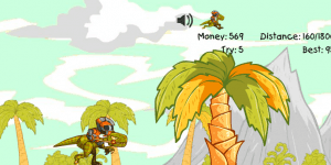 Hra - Crazy Raptor Rider