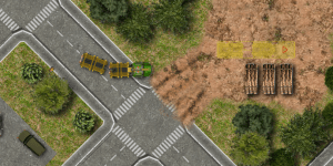 Hra - Timber Lorry Driver 2