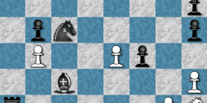 Hra - Chess on the board