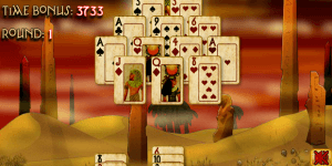 Pyramid Solitaire Mummy