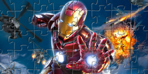 Hra - Iron Man Puzzle