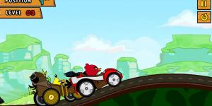 Hra - Angry Birds Race