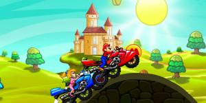 Hra - Mario Moto Race
