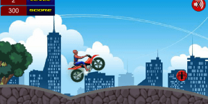Hra - Spiderman Super Bike