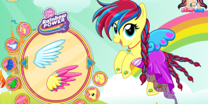 Hra - Fluttershy My Little Pony  Rainbow Power Style