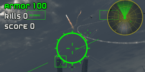 Hra - Air Strike Alien Drones