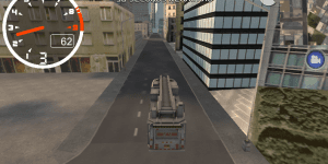 Hra - Fire Truck City Driving Sim