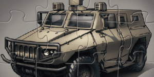 Hra - Military Truck Puzzle