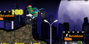 Hra - Ninja Turtles Bike Challenge