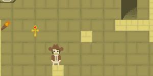 Hra - Pixel Doom: The Guardian of Ankh
