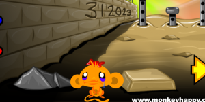 Hra - Monkey Go Happy Stage 8