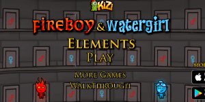 Hra - Fireboy and Watergirl 5: Elements