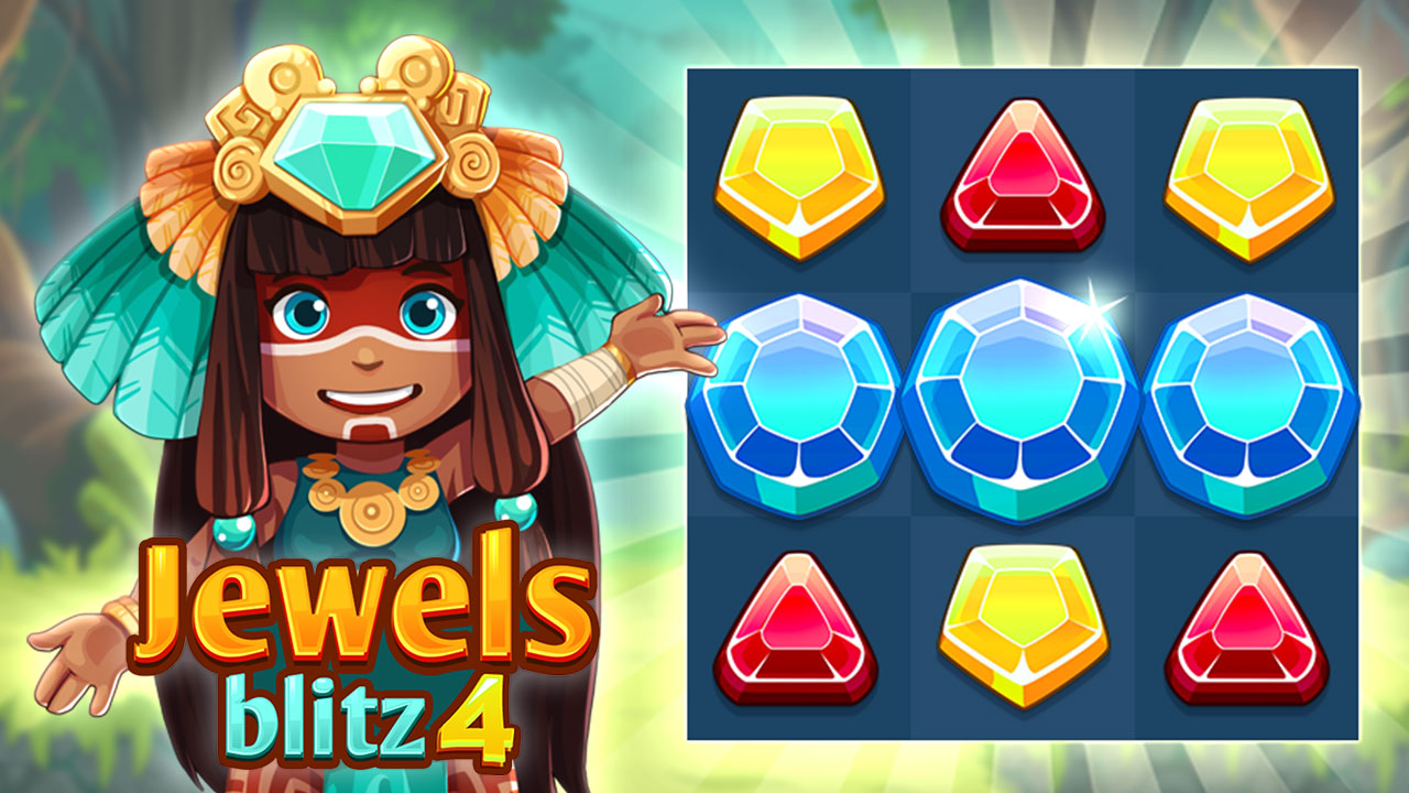 Hra - Jewels Blitz 4