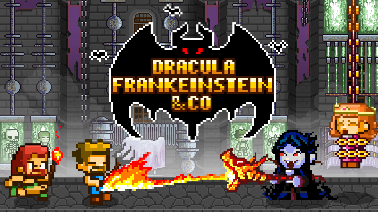 Hra - Dracula, Frankenstein & CO