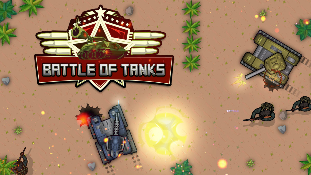 Hra - Battle of Tanks 2