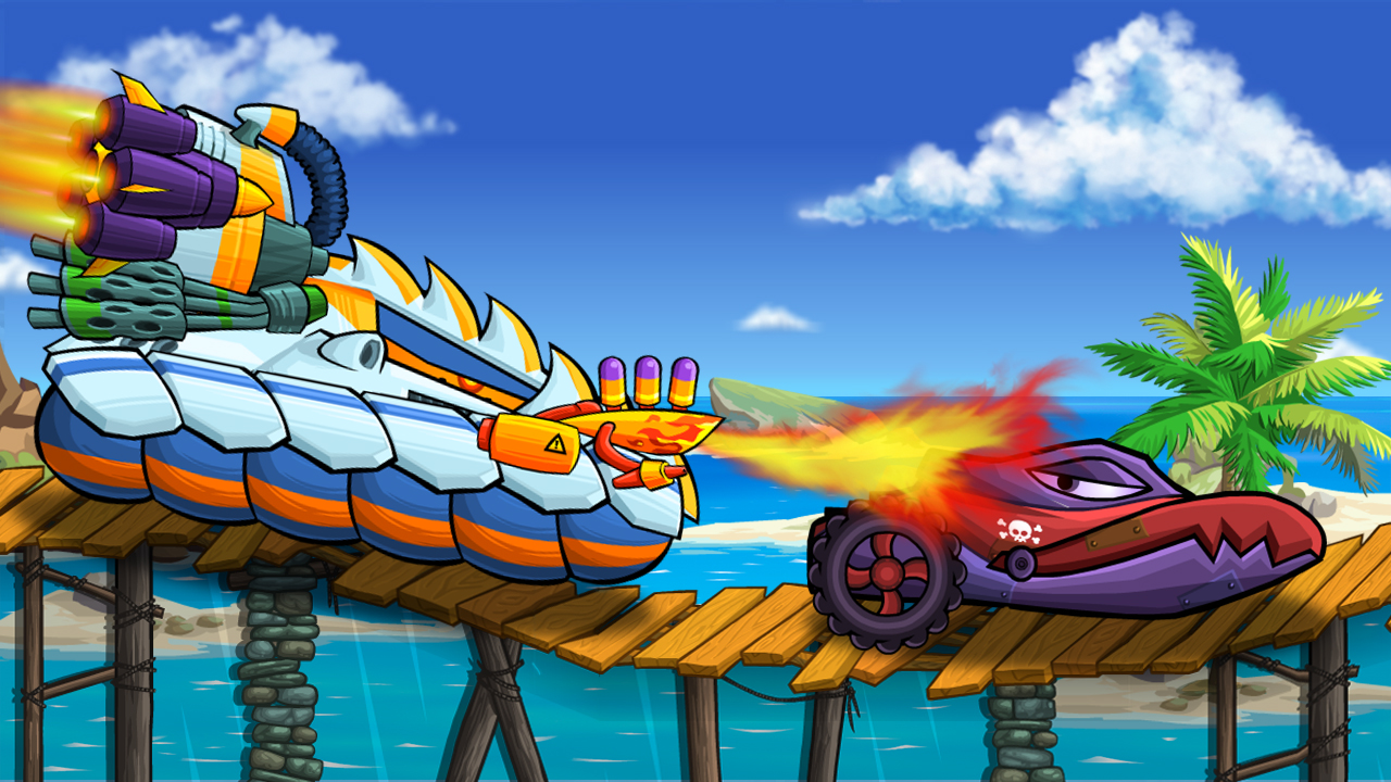 Hra - Car Eats Car: Sea Adventure