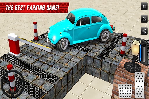 Hra - SUV Classic Car Parking Real Driving
