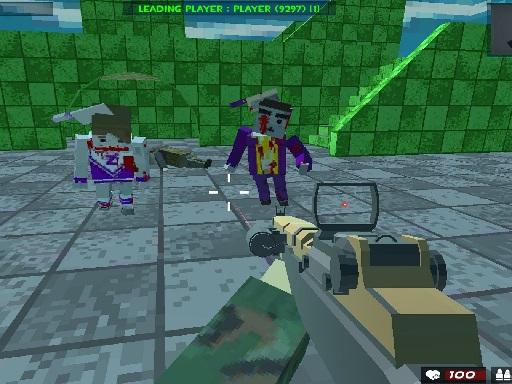 Hra - Survival Shooting Xtreme Crazy Pixel Combat