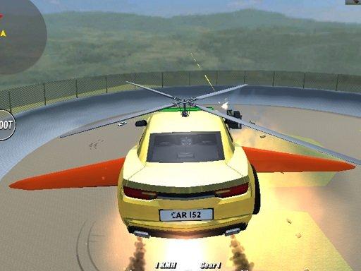 Hra - Supra Crash Shooting Fly Cars