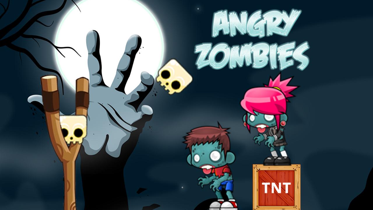Hra - Angry Zombies