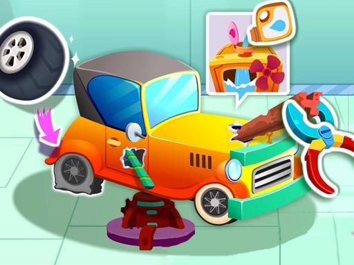 Hra - Animal Auto Repair Shop