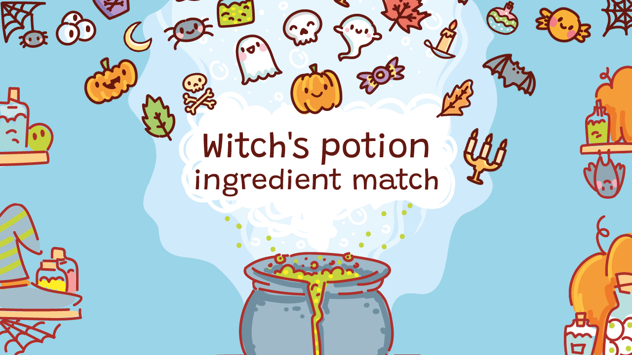 Hra - Potion Ingredient Match
