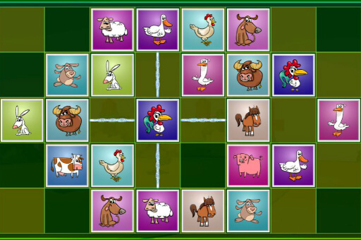 Hra - Farm Animal Matching Puzzles