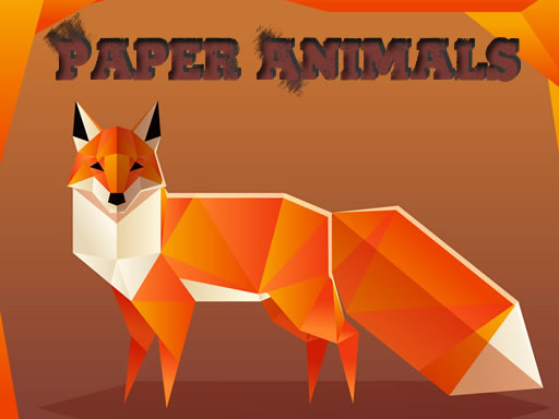 Hra - Paper Animals Pair