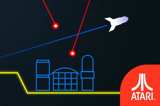 Hra - Atari Missile Command