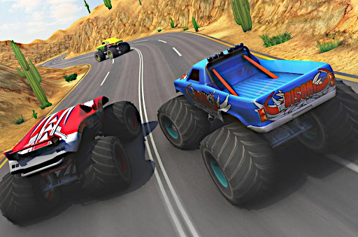 Hra - Monster Truck Extreme Racing