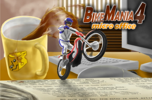 Hra - Bike Mania 4 Micro Office
